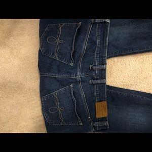 Vintage lucky brand ginger skinny jeans
